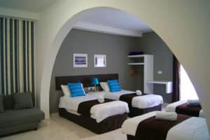 Twin Room at the Buccaneers Boutique Guest House