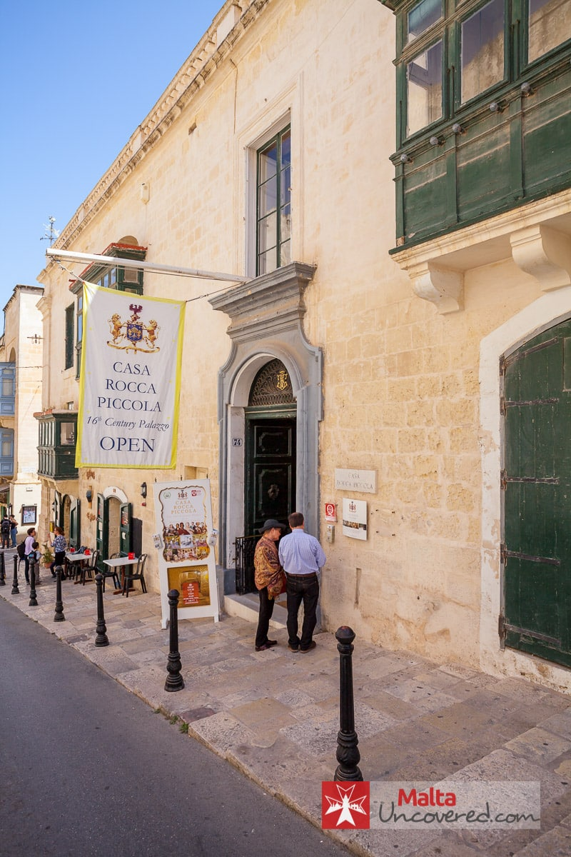 The 29 best museums and tourist attractions in malta for Casa piccola