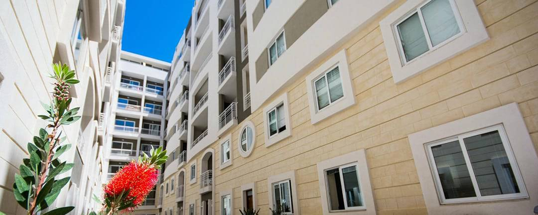 Depiro Point offer self-catering apartments in the heart of Sliema.