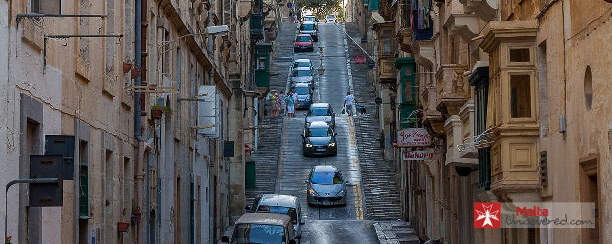 Driving in Malta can be tricky in places.