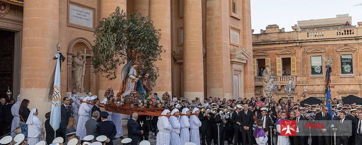 A Good Friday Procession in Malta