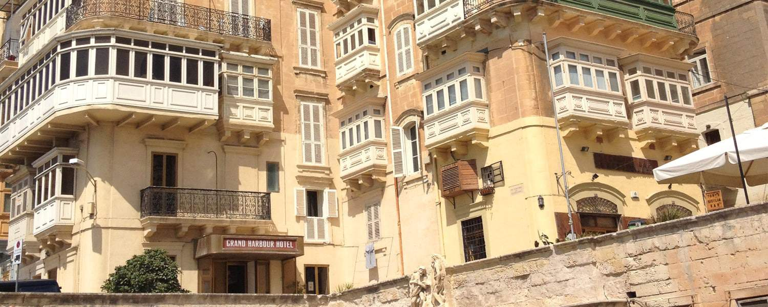 The Grand Harbour Hotel in Valletta - one of the more popular Malta hotels