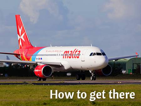 How to get to Malta