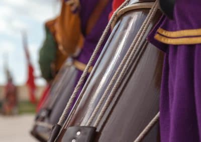 in-guardia-reenactment-drum-detail