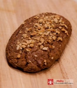 Kwarezimal is a traditional Maltese sweet for Lent