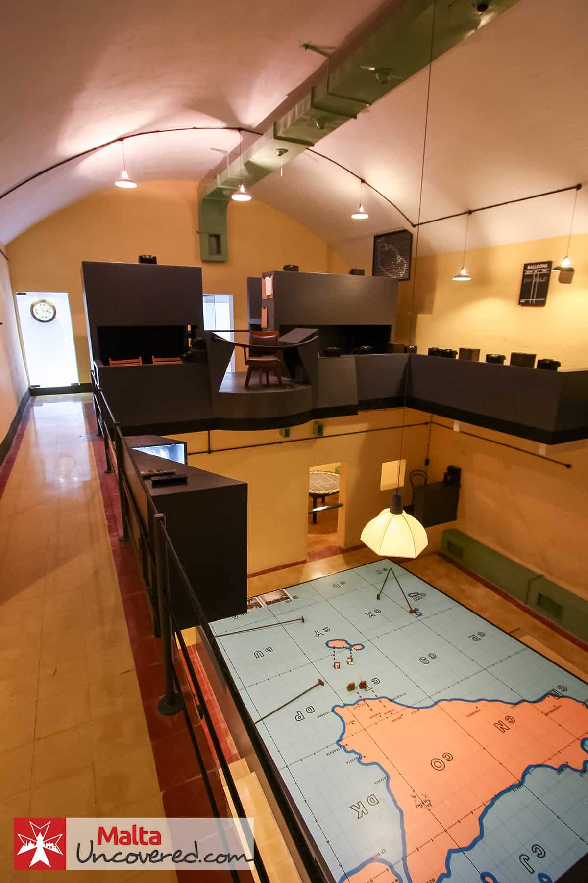 The Fighter Sector Operations Room.