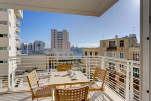 Nicely done up apartment at Tigne, Sliema.