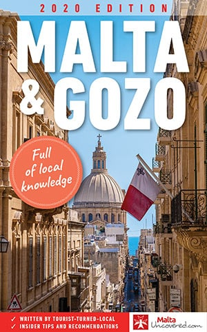 Malta and gozo travel guidebook cover
