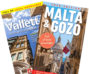 Malta, Gozo and Valletta guidebooks by Malta Uncovered.