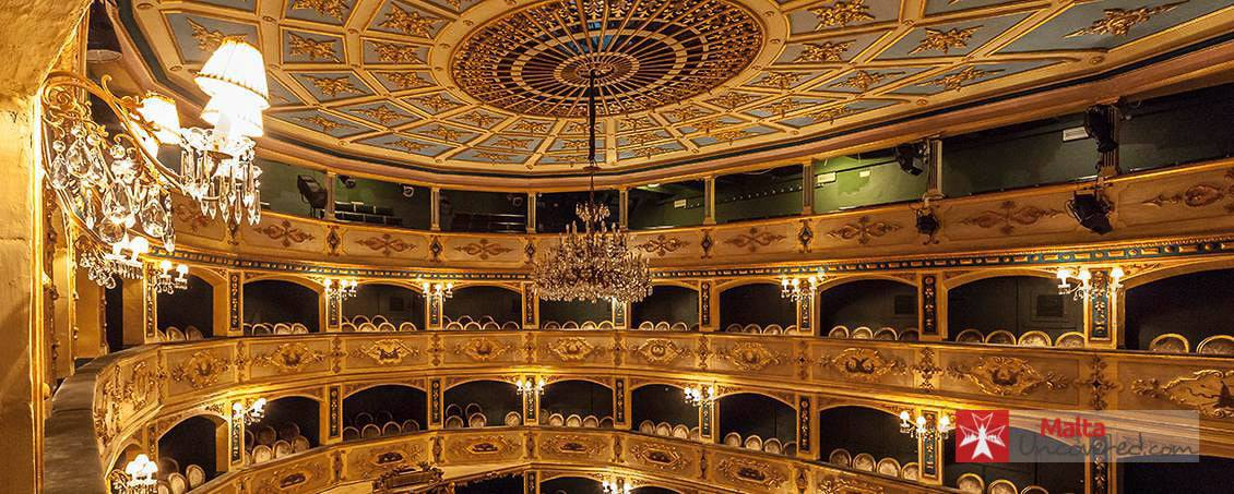 The Manoel Theatre is one of the oldest active theatres in Europe.