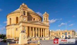 The Mosta Dome or Rotunda is a church and major landmark in the centre of Malta.