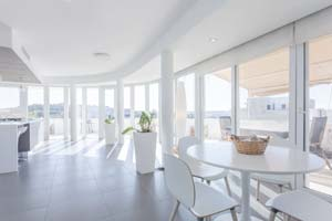 One of the nicest Airbnbs in Malta: Penthouse in Mosta with views.