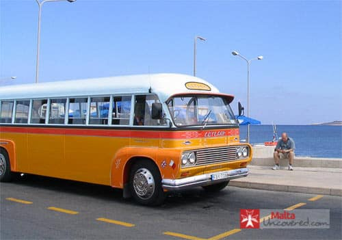 One of the old Malta buses.