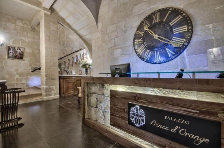 A touch of class for your self-catering Malta holiday, at Palazzo Prince d'Orange in Valletta.