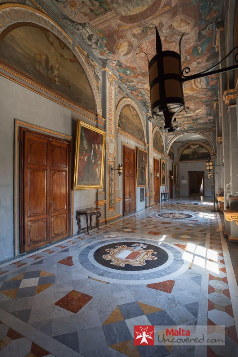 The Grandmaster's Palace (State Rooms) - one of the many points of interest in Malta.