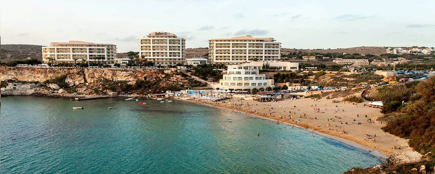 The Radisson Blu Golden Sands is considered to be one of the best hotels in Malta.