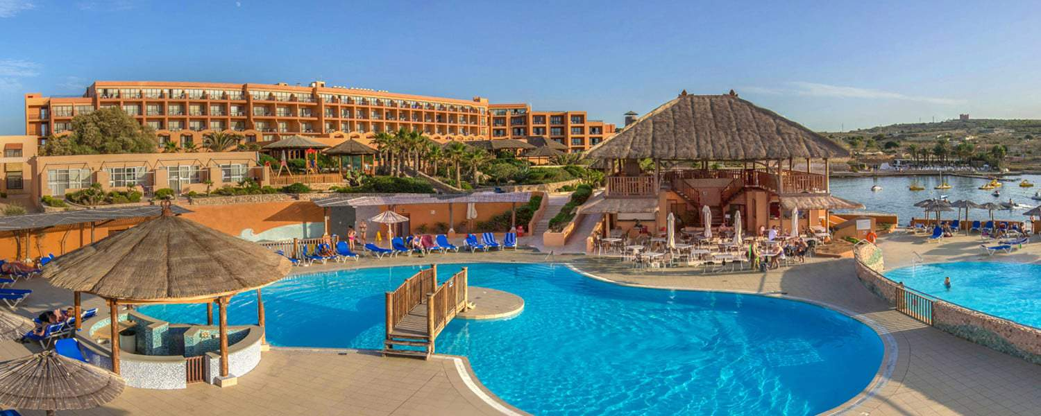 The Ramla Bay Resort, up in the North of Malta
