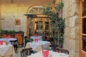 Rebekah;s Restaurant offers fine dining in Mellieha.