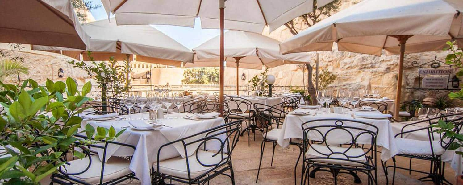 Top 50 best malta restaurants and eating out guide for Design boutique hotel malta