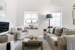 Beautifully designed seafront holiday let in Sliema.