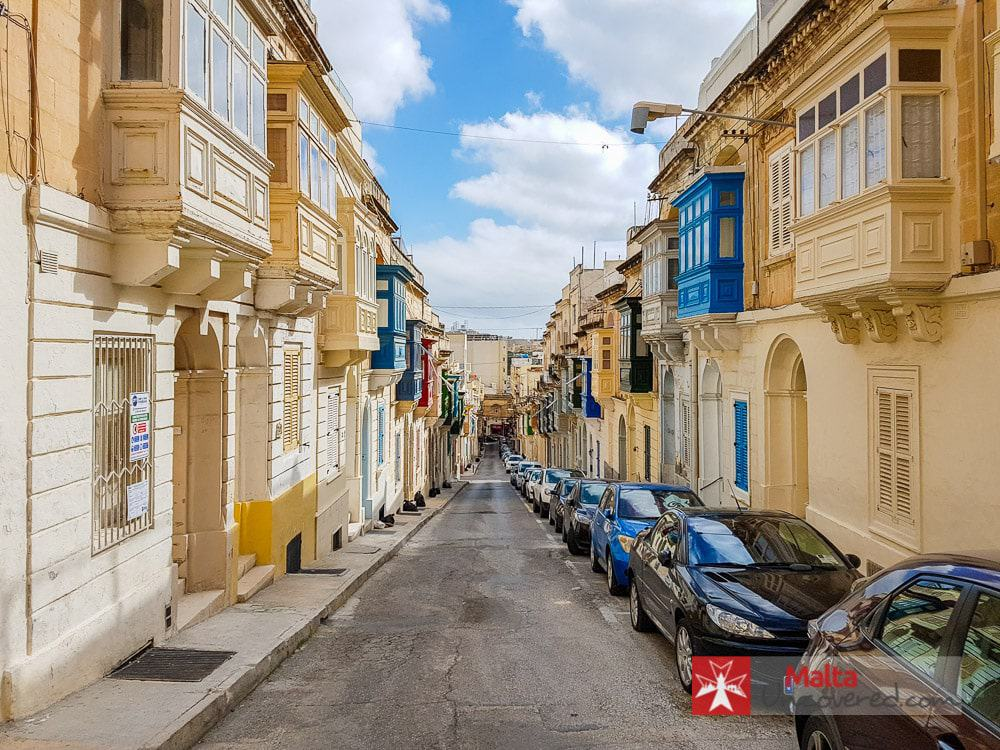A more peaceful side to an otherwise busy Sliema.