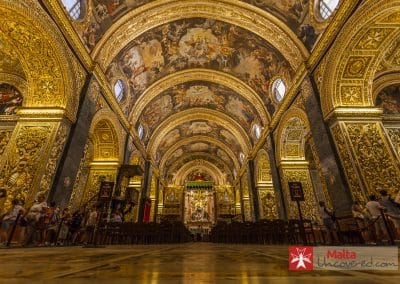 St John's Co-Cathedral - One of the most amazing points of interest in Valletta