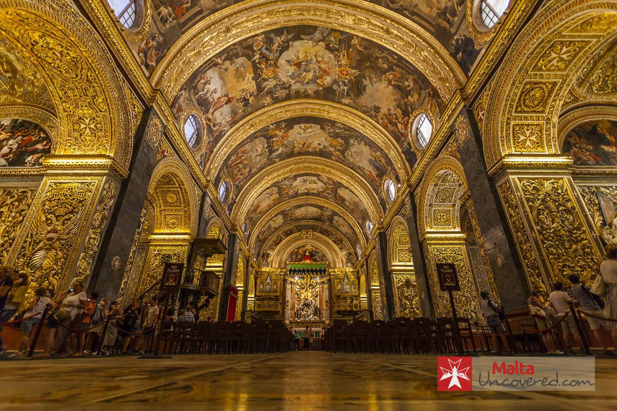 St John's Co-Cathedral - One of the best points of interest in Valletta