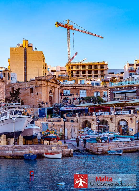 St. Julian's is one of the best places to stay in Malta for nightlife.