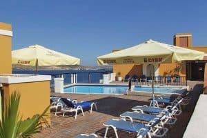 Sunseeker Holiday Complex is a good budget hotel option in Buġibba.