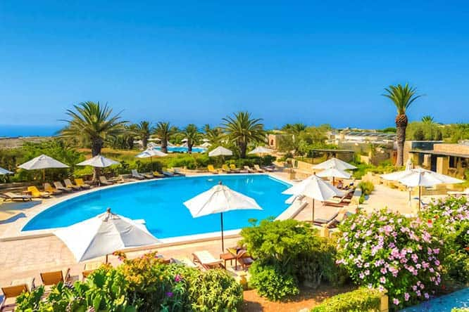 Hotel Ta` Cenc is one of the few 5-star hotels in Gozo.