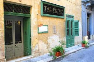 Tal Petut in Birgu is a great little restaurant to sample Maltese cooking.