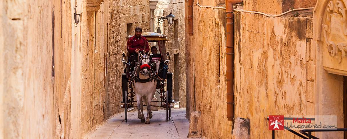 One of the many things to do in Malta: Taking a karozzin ride