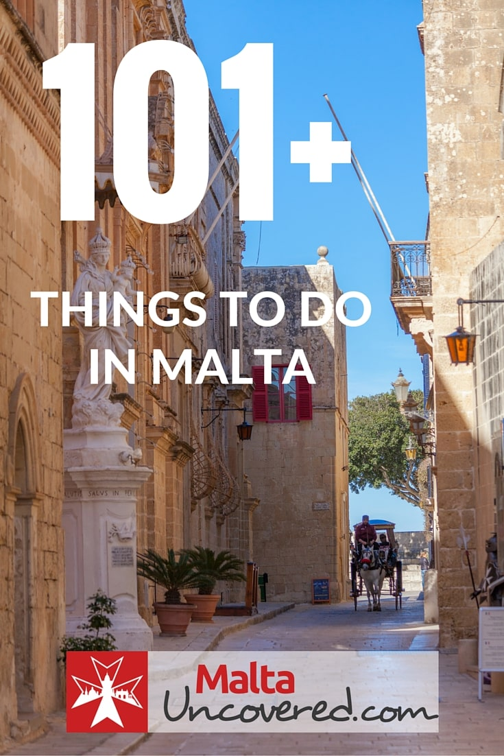 What to do in malta and gozo 101 ideas a list of 101 things you can do on your holiday to malta solutioingenieria Images