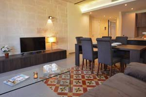 Lovely holiday let apartment in Valletta.
