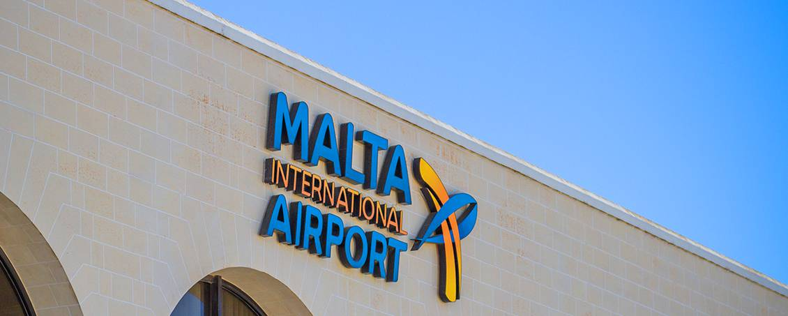Malta International Airport building. Photo by Cezary Borysiuk.