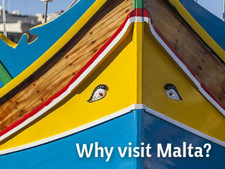 Why should you visit Malta?