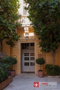 Entrance to the Xara Palace Relais & Chateaux