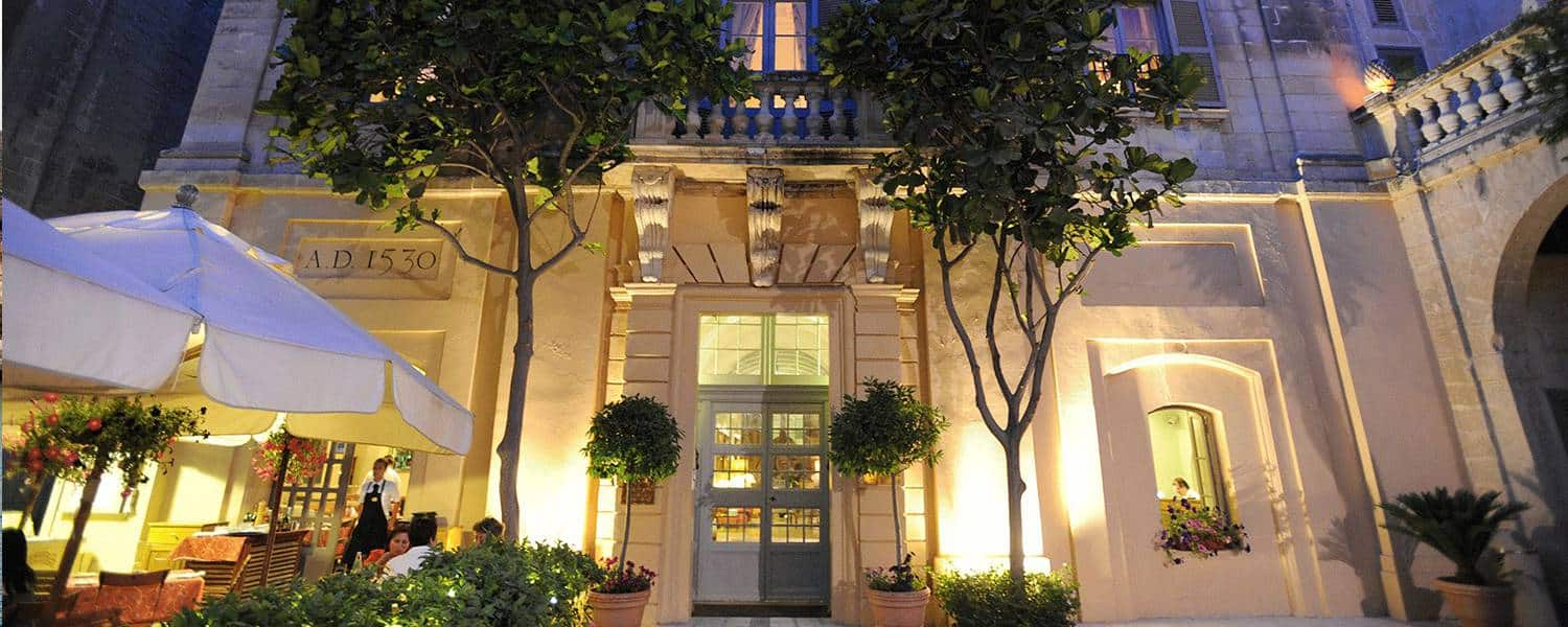 The Xara Palace hotel, at the heart of Mdina